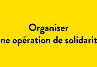 organiser solidarité